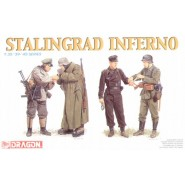 Stalingrad Inferno. 4 German soldiers
