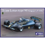 Team Lotus Type 91 Belgian GP 1982