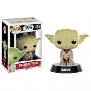 Star Wars POP! Vinyl Bobble-Head Figure Dagobah Yoda 8 cm
