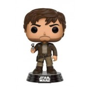 Star Wars Rogue One POP! Vinyl Bobble-Head Figure Captain Cassian Brown Jacket 9 cm