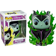Sleeping Beauty POP! Disney Vinyl Figure Maleficent 9 cm - Exclusive
