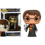 Harry Potter POP! Movies Vinyl Figure Harry with Hedwig 9 cm - Exclusive