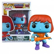 Masters of the Universe POP! Television Vinyl Figure Faker 9 cm - Exclusive