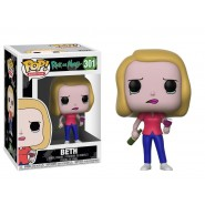 Rick and Morty POP! Animation Vinyl Figure Beth with Wine Glass 9 cm