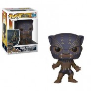 Black Panther Movie POP! Movies Vinyl Figure Black Panther Warriors Fall 9 cm