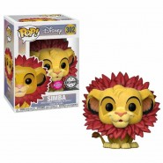The Lion King POP! Disney Vinyl Figure Simba (Flocked) 9 cm - Exclusive