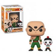 Dragonball Z POP! Animation Vinyl Figure Tien Shinhan & Chiaotzu 9 cm