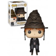 Harry Potter POP! Movies Vinyl Figure Ron Weasley with Sorting Hat 9 cm (Exclusive)