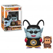 Dragonball Z POP! Animation Vinyl Figure King Kai & Bubbles 9 cm