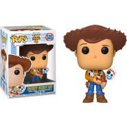 Toy Story 4 - Sheriff Woody holding Forky Pop! Vinyl Figure (EXCLUSIVE)
