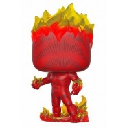 Marvel 80th POP! Heroes Vinyl Figure Human Torch (First Appearance) 9 cm