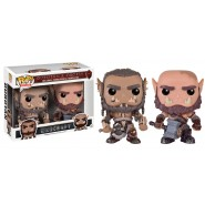 Warcraft POP! Movies Vinyl Figures 2-Pack Durotan & Ogrim 9 cm