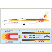 Air Nostrum (Iberia) ATR 72-the 1000th ATR built with a special livery.