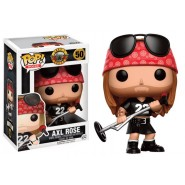 Guns N´ Roses POP! Rocks Vinyl Figure Axl Rose 9 cm
