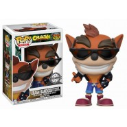 Crash Bandicoot POP! Vinyl Figure Crash Biker Outfit Hot Topic Exclusive 9 cm