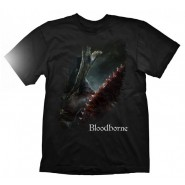 Bloodborne A Hunters Bloody Tool T-Shirt Black (Size: L)