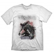 Bloodborne Bossfight  T-Shirt White (Size: L)