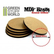MDF Bases - Round 60 mm x 1
