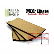 MDF Bases - Rectangle 100x50mm x 1