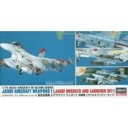 1/72 JASDF Aircraft Weapons 1 Missiles & Launcher