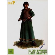 El Cid Spanish Light Infantry x 36 hard plastic figures