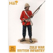 Zulu War British Infantry x 48 figures