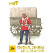 Colonial General Service Wagon (3 wagons per box)