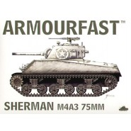 M4A3 Sherman 75mm gun: Pack includes 2 snap together tank kits