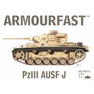 Pz.Kpfw.III Ausf.J: Pack includes 2 snap together tank kits