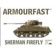 Sherman Firefly: Pack includes 2 snap together tank kits