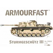 Sturmgeschutz/StuG.III: Pack includes 2 snap together tank kits