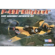 Curtiss P-40E Kittyhawk/Warhawk 'Easy Build'