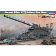 German 80cm K(E) Railway Gun 'Dora'