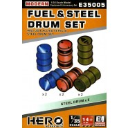 Modern Fuel and steel drum set