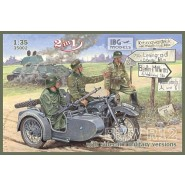 BMW R12 with sidecar - military versions ( 2 in 1)