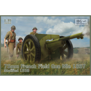 75mm French Field Gun Mle 1897-Modified 1938