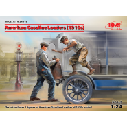 American Gasoline Loaders (1910s) (2 figures) (100% new molds)