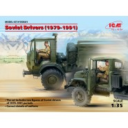 Soviet Drivers (1979-1991) (2 figures) (100% new molds)