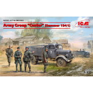 "Army Group ""Center"" (Summer 1941) (Kfz.1, Typ L3000S, German Infantry (4 figures), German Drivers (4 figures) Diorama Set"