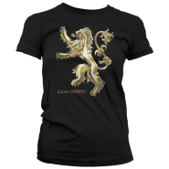 Game Of Thrones Ladies T-Shirt Chrome Lannister (Size: S)