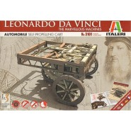 Leonardo Da Vinci Self-Propelling Cart The Marvellous Machines