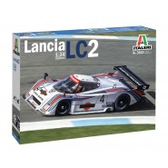 LANCIA LC2 SUPER DECALS SHEET - COLOR INSTRUCTIONS SHEET