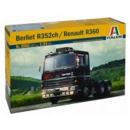 Berliet R35ch/Renault R360 Decals for 2 versions