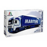 Maritime Transport DAF XF 105 & Curtain Trailer