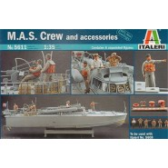 MAS 568 4a serie Italian fast patrol boat. Crew and Accessories (designed to be used with Italeri kits IT5608)