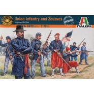 Union Infantry and Zouaves (AMERICAN CIVIL WAR)
