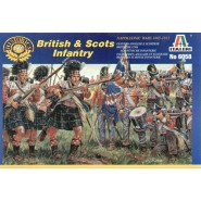 Napoleonic Wars British and Scots Infantry