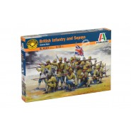British Infantry and Sepoys (Colonial wars)