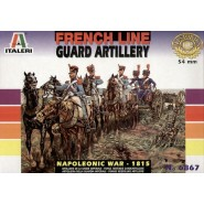 FRENCH LINE GUARD ARTILLERY (NAPOLEONIC WAR 1815)