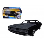 Fast & Furious 7 Diecast Model 1/24 1970 Plymouth Letty's Barracuda